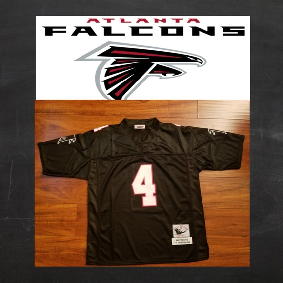pretty nice d53f0 f2bd4 Brett Favre Atlanta Falcons Jersey Boutique